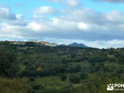 Cárcavas del Río Perales - Sierra Oeste de Madrid; rutas de senderismo en madrid